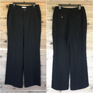 CAbi Pay Day Black 811L CITY PANTS Sz 10 Long